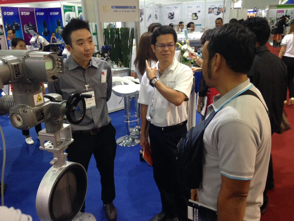 Pumps and Valves Asia 2016 K C Mahanakorn Co.,Ltd.